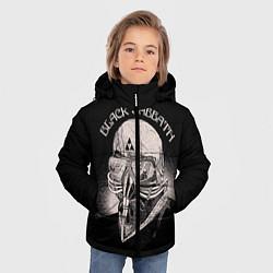 Детская зимняя куртка для мальчика с принтом Black Sabbath: Acid Cosmic, цвет: 3D-черный, артикул: 10087840406063 — фото 2