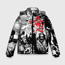 Куртка зимняя для мальчика 9 мая 7 цвета 3D-черный — фото 1