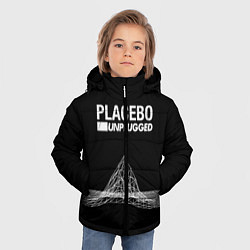 Куртка зимняя для мальчика Placebo: Unplugged цвета 3D-черный — фото 2