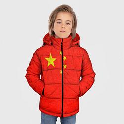 Куртка зимняя для мальчика Китай цвета 3D-черный — фото 2