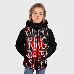 Детская зимняя куртка для мальчика с принтом Doctor Sleep, цвет: 3D-черный, артикул: 10095789806063 — фото 2