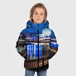 Детская зимняя куртка для мальчика с принтом Москва, цвет: 3D-черный, артикул: 10095926006063 — фото 2
