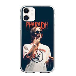 Чехол iPhone 11 матовый Pharaoh цвета 3D-белый — фото 1