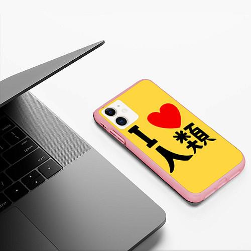 Чехол iPhone 11 матовый No game no life Sora / 3D-Баблгам – фото 3