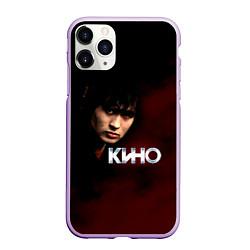 Чехол iPhone 11 Pro матовый Кино цвета 3D-сиреневый — фото 1