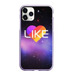 Чехол iPhone 11 Pro матовый LIKE цвета 3D-светло-сиреневый — фото 1
