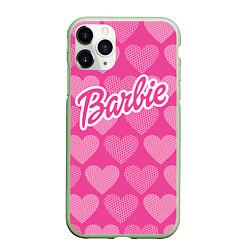 Чехол iPhone 11 Pro матовый Barbie цвета 3D-салатовый — фото 1