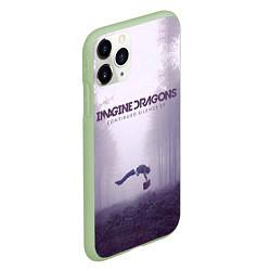 Чехол iPhone 11 Pro матовый Imagine Dragons: Silence цвета 3D-салатовый — фото 2