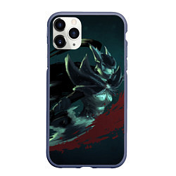 Чехол iPhone 11 Pro матовый Phantom Assassin цвета 3D-серый — фото 1
