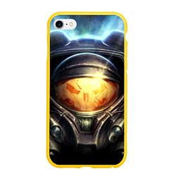 Чехол iPhone 6/6S Plus матовый StarC 2 цвета 3D-желтый — фото 1