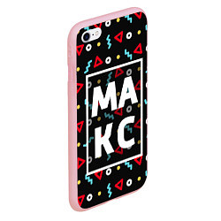 Чехол iPhone 6/6S Plus матовый Макс цвета 3D-баблгам — фото 2