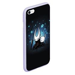Чехол iPhone 6/6S Plus матовый Hollow Knight цвета 3D-светло-сиреневый — фото 2
