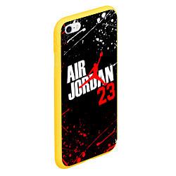 Чехол iPhone 6/6S Plus матовый MICHAEL JORDAN цвета 3D-желтый — фото 2
