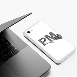 Чехол iPhone 6/6S Plus матовый Payton Moormeier цвета 3D-белый — фото 2