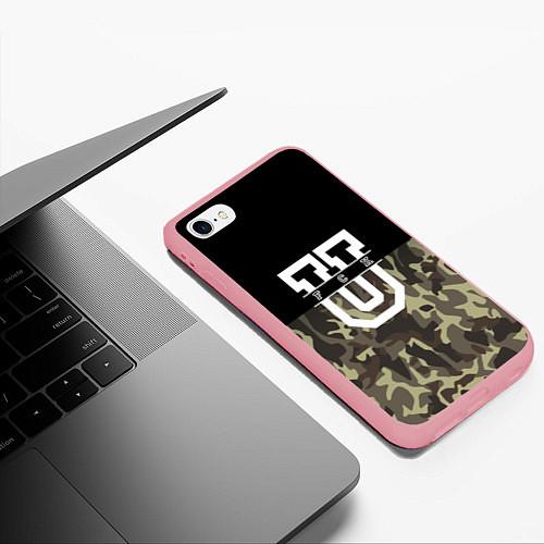 Чехол iPhone 6 Plus/6S Plus матовый FCK U: Camo / 3D-Баблгам – фото 3