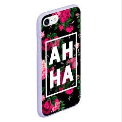 Чехол iPhone 7/8 матовый Анна цвета 3D-светло-сиреневый — фото 2