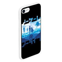 Чехол iPhone 7/8 матовый No Game No Life цвета 3D-белый — фото 2