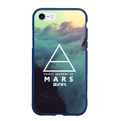 Чехол iPhone 7/8 матовый 30 STM: Dark Heaven цвета 3D-тёмно-синий — фото 1