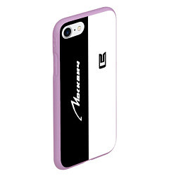Чехол iPhone 7/8 матовый Москвич цвета 3D-сиреневый — фото 2