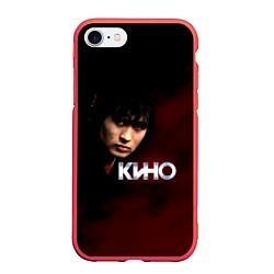 Чехол iPhone 7/8 матовый Кино цвета 3D-красный — фото 1