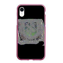 Чехол iPhone XR матовый The International 2018 цвета 3D-малиновый — фото 1
