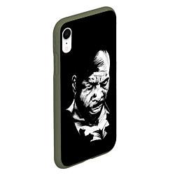 Чехол iPhone XR матовый Сити Флетчер цвета 3D-темно-зеленый — фото 2