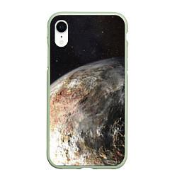 Чехол iPhone XR матовый Плутон цвета 3D-салатовый — фото 1