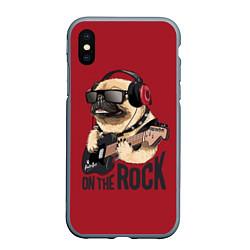 Чехол iPhone XS Max матовый On the rock