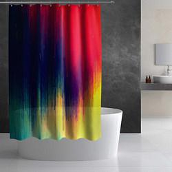 Шторка для душа Stylize color цвета 3D — фото 2
