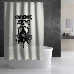 Шторка для душа Hollywood Undead: Mask цвета 3D-принт — фото 2