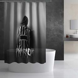 Шторка для душа Pharaoh: Black side цвета 3D — фото 2