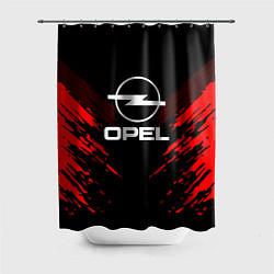 Шторка для душа Opel: Red Anger цвета 3D-принт — фото 1