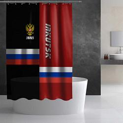 Шторка для душа Irkutsk, Russia цвета 3D — фото 2