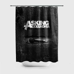 Шторка для душа Asking Alexandria: Black Micro цвета 3D-принт — фото 1