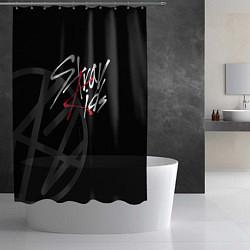 Шторка для душа Stray Kids цвета 3D — фото 2