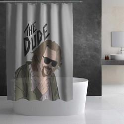 Шторка для душа The Dude цвета 3D — фото 2
