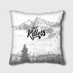 Подушка квадратная The Killers: Alpen цвета 3D — фото 1