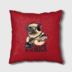 Подушка квадратная On the rock