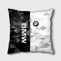 Подушка квадратная BMW цвета 3D-принт — фото 1