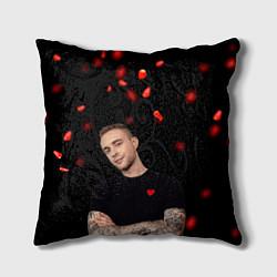 Подушка квадратная Егор Крид цвета 3D — фото 1