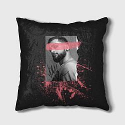 Подушка квадратная JONY цвета 3D-принт — фото 1