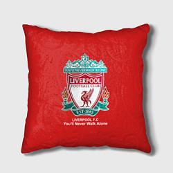 Подушка квадратная Liverpool цвета 3D — фото 1