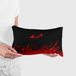 Подушка-антистресс АлисА на спине цвета 3D — фото 2