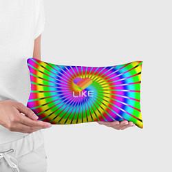 Подушка-антистресс LIKE цвета 3D-принт — фото 2