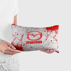 Подушка-антистресс MAZDA RED LOGO цвета 3D — фото 2