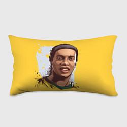 Подушка-антистресс Ronaldinho Art цвета 3D-принт — фото 1