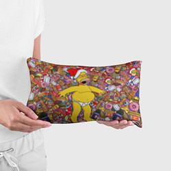 Подушка-антистресс Обжора Гомер цвета 3D-принт — фото 2