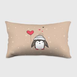 Подушка-антистресс Пингвин с шариком цвета 3D-принт — фото 1