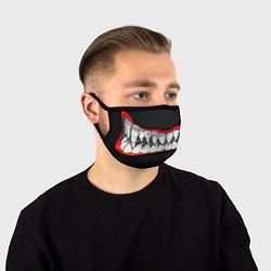 Маска для лица Зубы монстра цвета 3D — фото 1