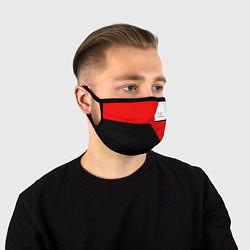 Лицевая защитная маска с принтом Toyota Sport, цвет: 3D, артикул: 10148899905881 — фото 1
